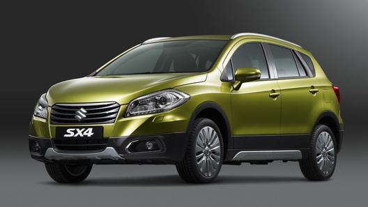 Продажи Suzuki SX4 S-Cross стартуют 1 октября
