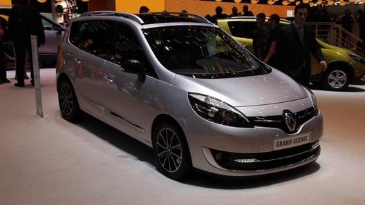 Renault привезла в Женеву обновленное семейство Scenic