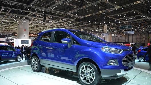 Ford EcoSport засветился в Женеве и может доехать до России