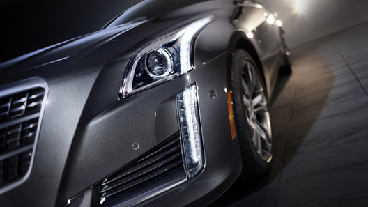 Cadillac CTS стал виден чуть лучше