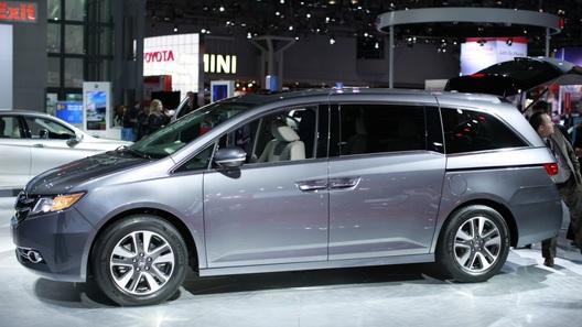 Honda Odyssey стала первой серийной машиной со встроенным пылесосом