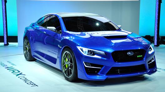 Subaru намекнула на облик нового седана WRX