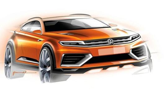 Концепт следующего поколения VW Tiguan едет в Шанхай
