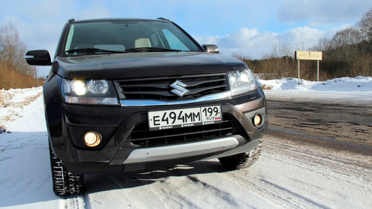 Suzuki Grand Vitara: часть 3 (6 150 км)