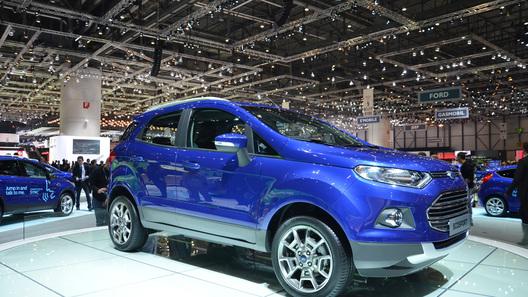 Ford будет собирать компактный кроссовер EcoSport в России