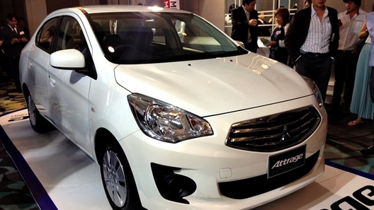 В Таиланде прошла премьера бюджетного седана Mitsubishi