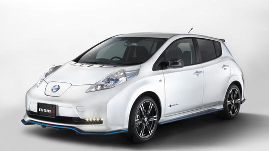 Ателье Nismo прокачало электромобиль Nissan Leaf