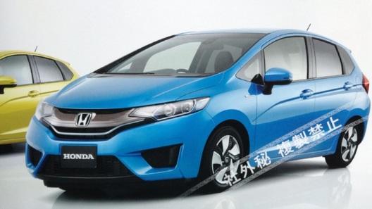 Рассекречена внешность новой Honda Jazz