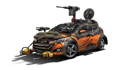 Hyundai пришла на помощь борцам с зомби