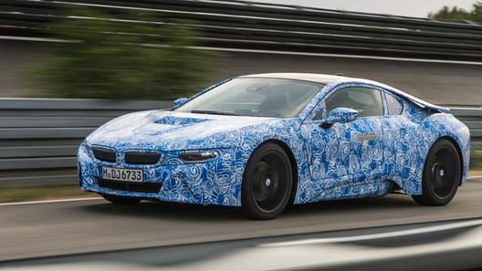 BMW i8 получит трехцилиндровый турбомотор