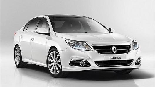 Обновленный Renault Latitude приедет во Франкфурт