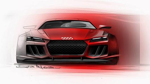 Audi готовит гибридный спорткар с 800-сильным двигателем