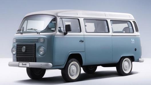 Знаменитый микроавтобус VW Kombi уйдет красиво
