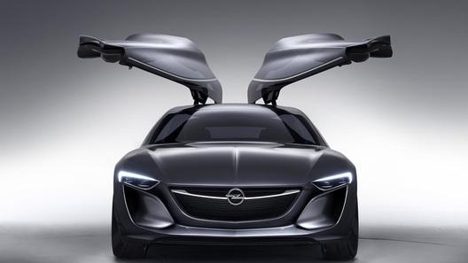 Opel рассекретил концепт Monza