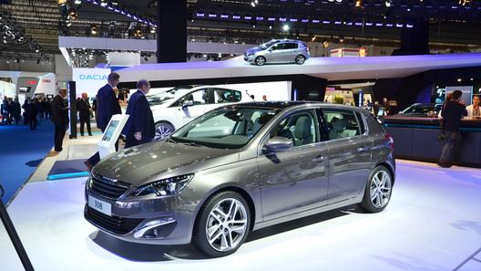 Во Франкфурте дебютировал новый Peugeot 308