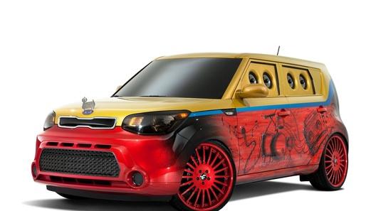 Kia Soul превратили в бумбокс на колесах