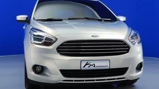 Новый Ford Ka не стал сюрпризом