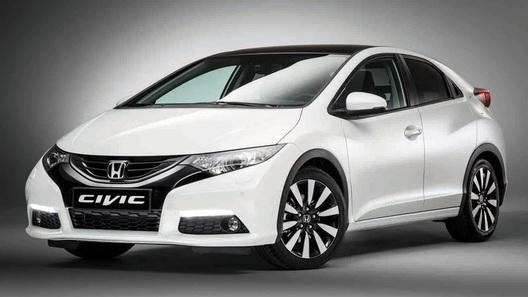 Обновленный хэтчбек Honda Civic приедет в Европу в январе 2014 года
