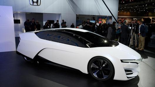 Honda заглянула в будущее с концептом FCEV
