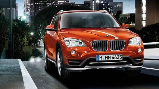 Обновленный BMW X1 покажут в Детройте