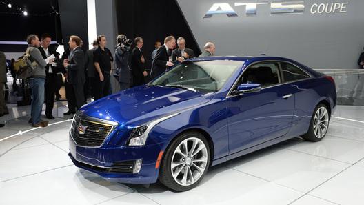 Седан Cadillac ATS перевоплотился в купе