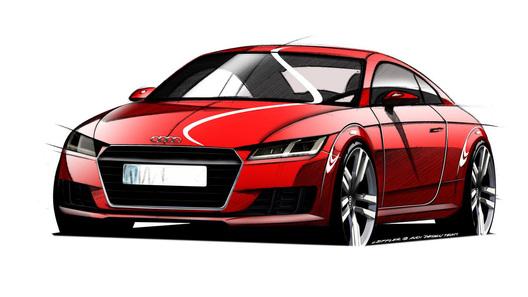 Появились первые изображения нового спорткара Audi