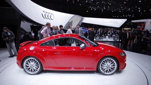 Звездой стенда Audi в Женеве стало спорткупе на тяжелом топливе