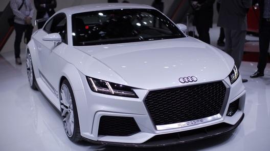 Новая Audi TT уже стала базой для экстремального концепт-кара