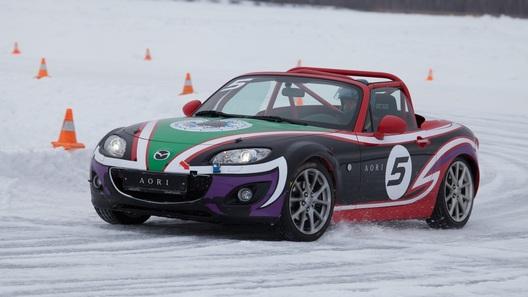 Mazda Ice Race: ледовая гонка по японским правилам