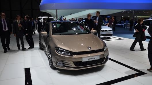 Новый VW Scirocco станет мощнее