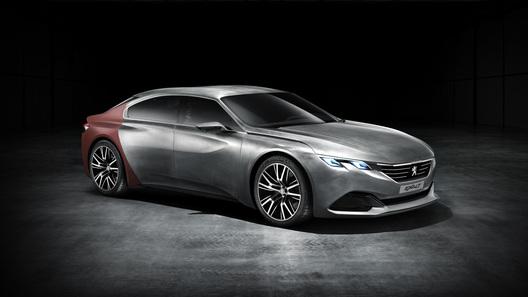 Концепт Peugeot для Китая - эбеновое дерево,
