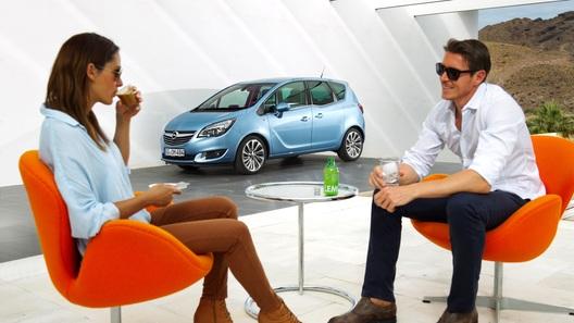 Для старых и малых: тест-драйв обновленного Opel Meriva