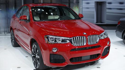 В Нью-Йорке представлена мини-версия BMW X6