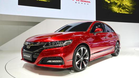 Прототип нового поколения Honda Accord дебютировал в Китае