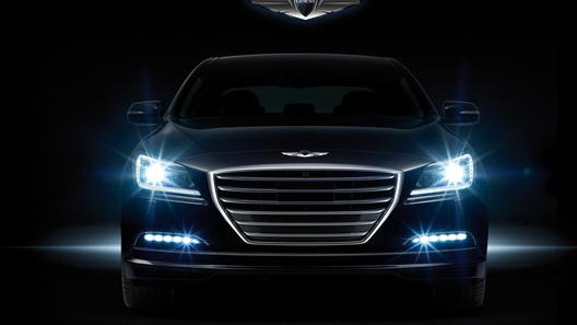 Hyundai везет в Россию новый Genesis