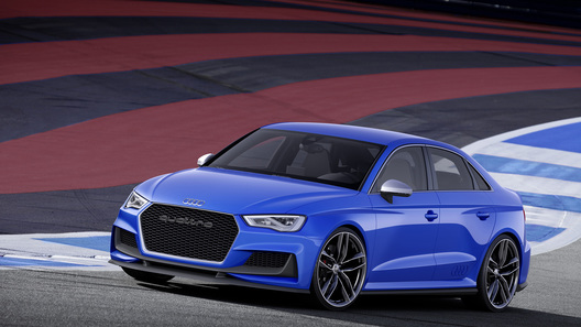 Audi представила экстремальную версию A3