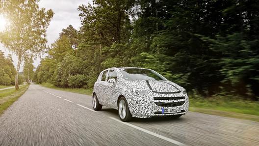 Opel готовит новую Corsa к дебюту в Париже