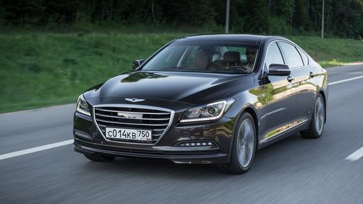 Была бы только тройка порезвей: тест-драйв нового Hyundai Genesis