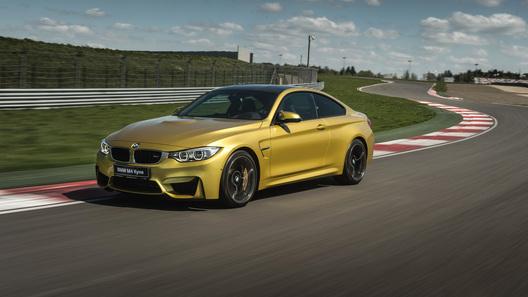 Легкоатлеты: тест новых BMW M3 и M4