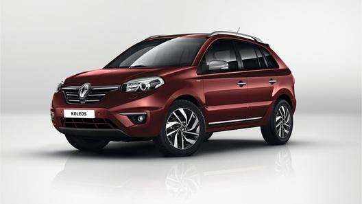Renault представит особую версию кроссовера Koleos