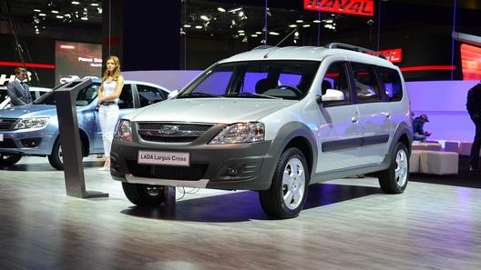 Lada Largus Cross будет дороже обычного на 20 тысяч