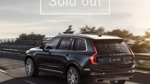 Volvo распродал первую партию нового XC90 за 47 часов