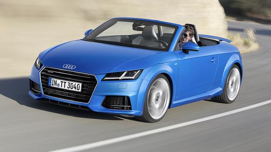 Audi TT нового поколения окончательно превратился в родстер