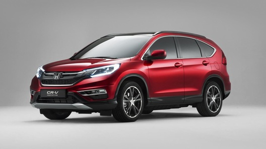 Honda представила обновленный кроссовер CR-V для Европы