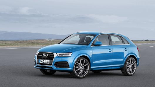 Обновленный Audi Q3 обойдется в 1,3 млн рублей