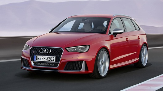 Новая пятидверка Audi бьет рекорды мощности