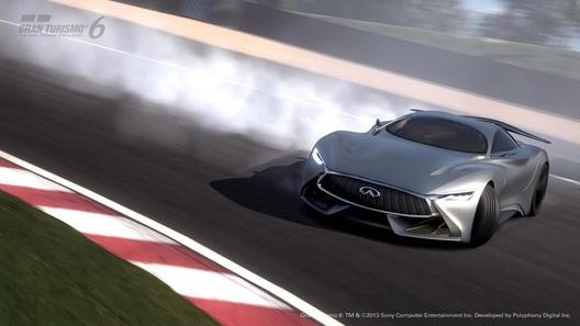 Infiniti представила очередной виртуальный спорткар