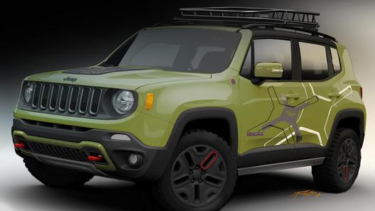 Ателье Mopar покажет в Детройте две собственных версии Jeep Renegade