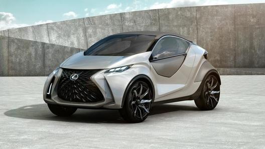 Обещанный концепт от Lexus оказался трехдверным хэтчбеком