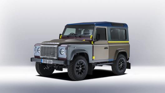 Модный дизайнер превратил Land Rover Defender в арт-объект